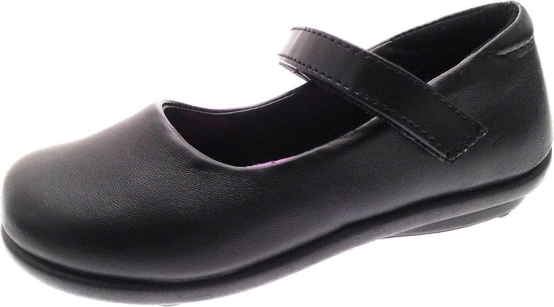 Black Mary Jane School Shoes Size UK