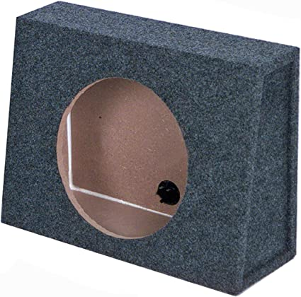"Car Audio Sealed 10 Inch Regular Cab Truck 3//4/"" Mdf Subwoofer Enclosure Sub Box"