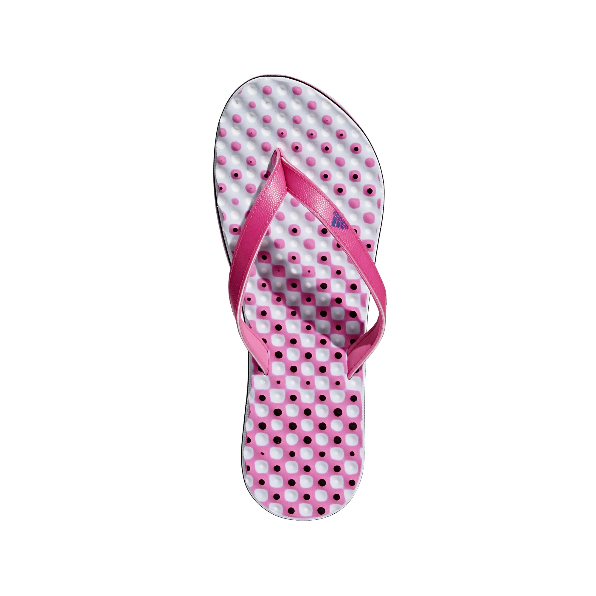 adidas Women's Eezay Flip-Flop, Shock Pink/Collegiate Royal/Aero Blue, 5 M US