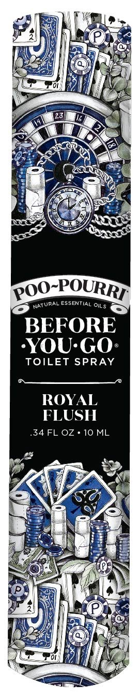 Poo-Pourri Before-You- Go Toilet Spray, 10-ML Travel Size, 10 ml, Royal Flush Scent