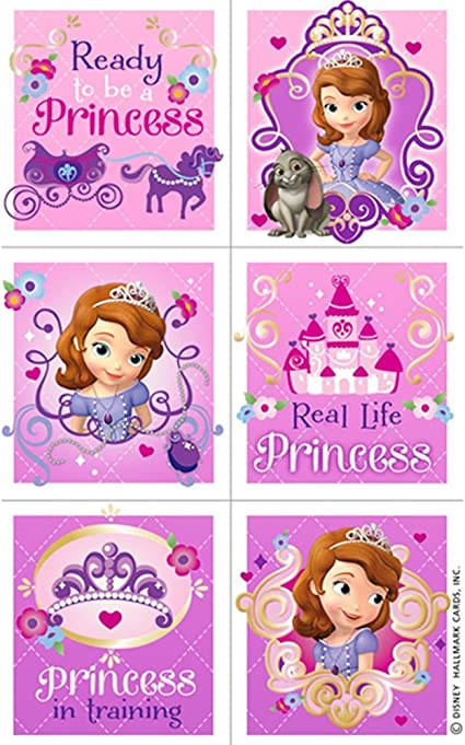 SmileMakers Disney Sofia The First Patient Stickers 100 Per Pack