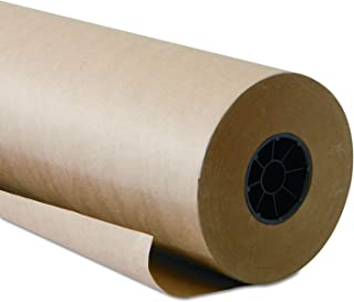 product image for Kraft Paper Roll 48 X 1800 Inch - Brown Craft Paper Table Cover Packing Wrapping Paper