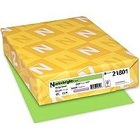 Astrobrights Premium Color Paper, 24 lb, 8.5 x 11 Inches, 500 Sheets, Martian Green - 1