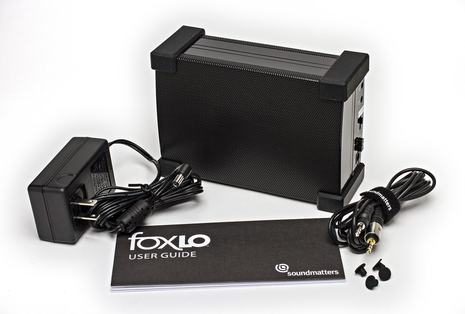 Soundmatters foxLO Palm-Sized Powered Subwoofer - US Version (Black)