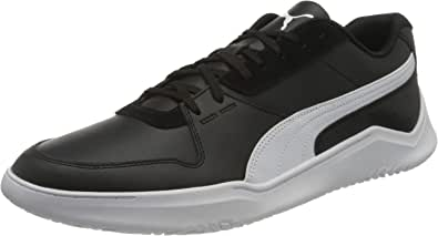 PUMA DC Past Back-Logo Low-Top Lace-Up Running Sneakers for Men