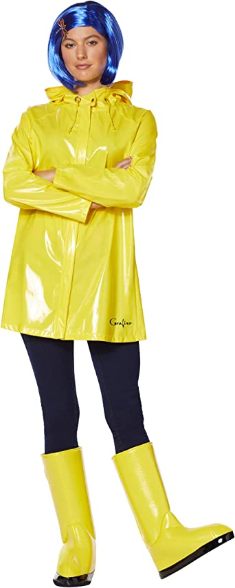 Amazon Com Spirit Halloween Adult Coraline Costume Officially Licensed Clothing