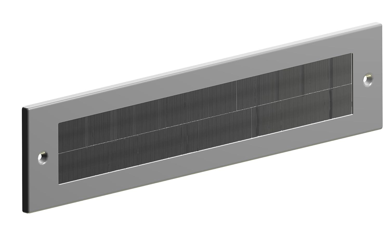 Stormguard 06SR0170000BL Negro Metal Interna Letter Box Cepillo Cubierta