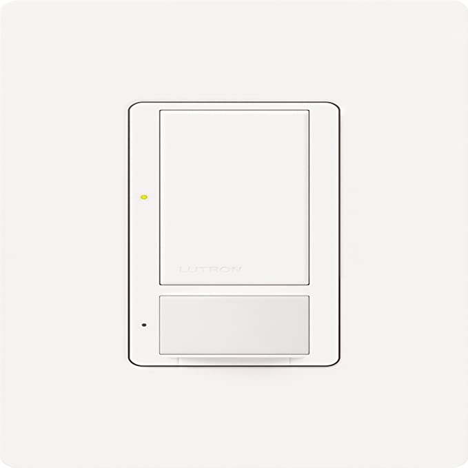 Mocha Stone Lutron Lutron MS-VPS6M2-DV-MS Maestro 6-Amp Multi-Location Dual Voltage Vacancy Sensing Switch