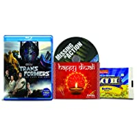 Transformers 5: The Last Knight + Missing in Action - 2 English Movies (2 Blu-ray bundle offer)