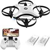 Holy Stone HS220 FPV RC Quadcopter Drone with Camera Live Video, WiFi APP Control, Altitude Hold, Headless Mode, One Key Take Off/Landing, 3D Flips, Foldable Arms,Wing and Folding Flight Modes