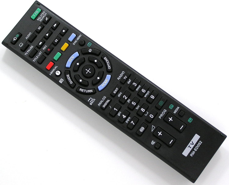 Ersatz Fernbedienung For Sony Tv Rm Ed052 Rmed052 Elektronik