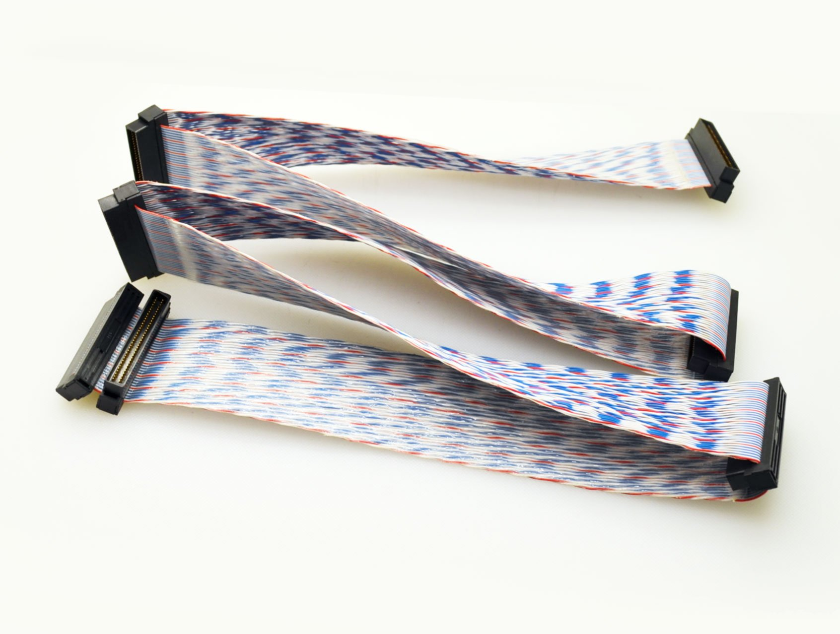Internal 68 Pin SCSI Ribbon Cable - 5 Device SCSI Cable by PartsCollection®