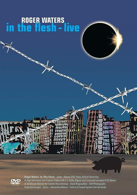 Resultado de imagen para Roger Waters In The Flesh dvd