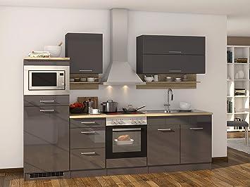 Küchenzeile Küchenblock Küche Einbauküche Küchen-Set Kochnische ...