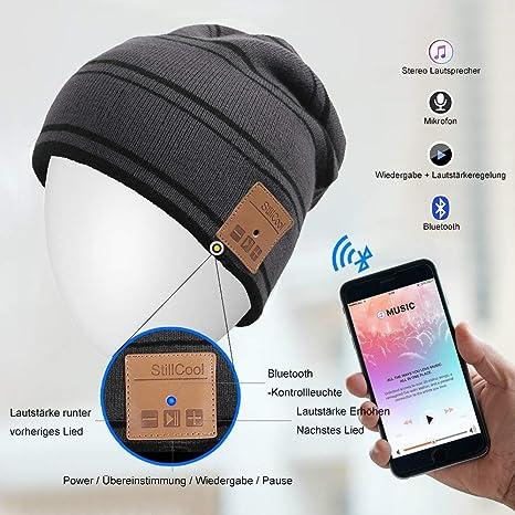 StillCool Cappello Bluetooth 06cc594a1577