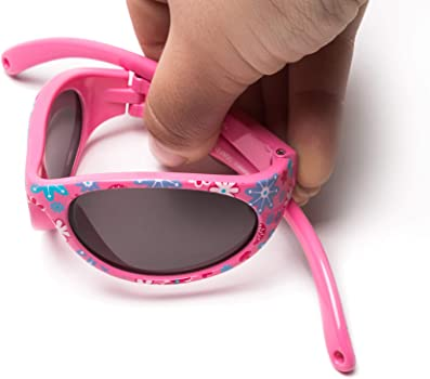 Flexible Safe Comfortable and Resistant Goggles Adjustable and Detachable Elastic Band Sun filter UV400 KIDDUS Baby Comfort SUNGLASSES Boy and Girl From 6 months