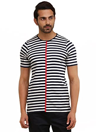 1438df90c279a6 GENES - Lecoanet Hemant Comfort T-shirt  Amazon.in  Clothing   Accessories