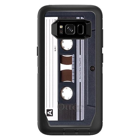 new styles 9a795 828b1 Amazon.com: DistinctInk Case for Galaxy S8+ Plus - Custom Black ...