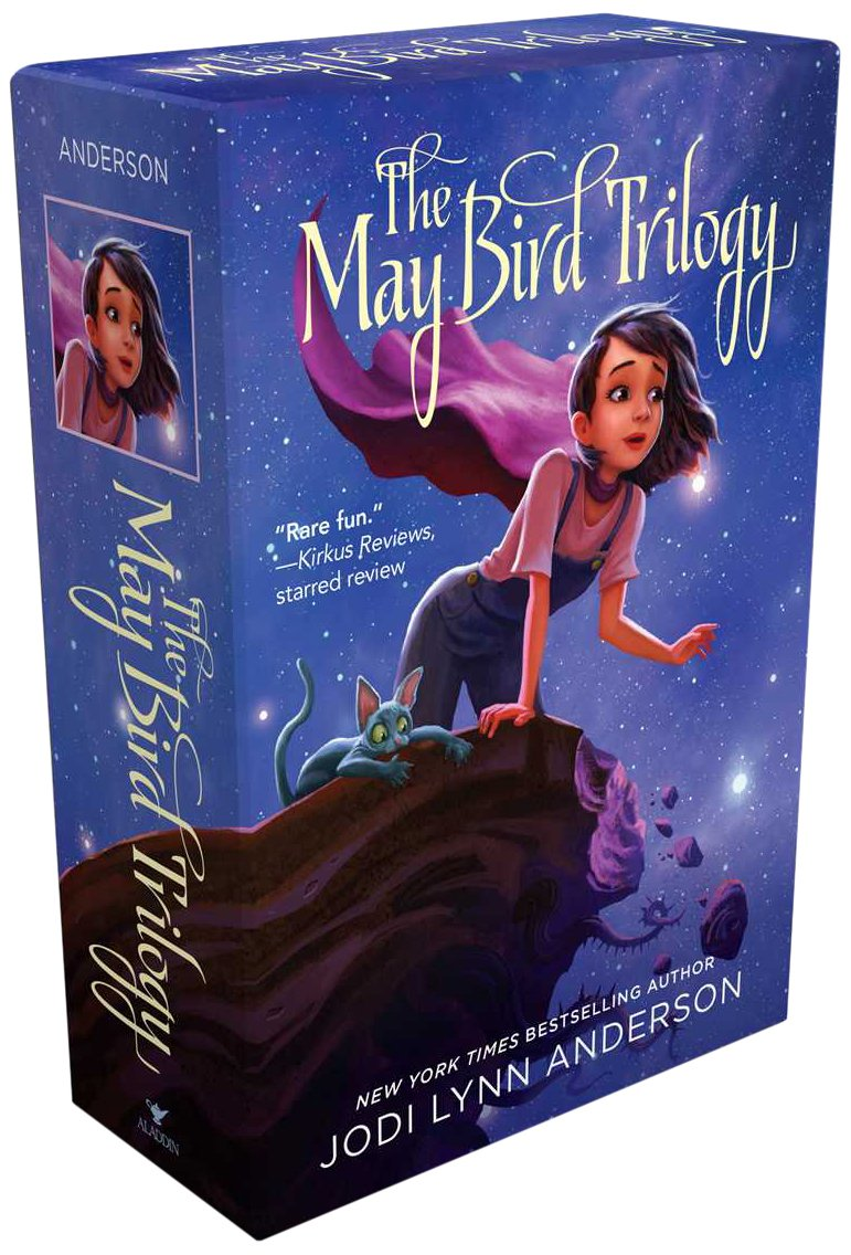 The May Bird Trilogy: The Ever After; Among The Stars; Warrior Princess: Jodi  Lynn Anderson: 9781481416733: Amazon: Books