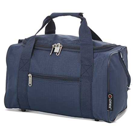 5 Cities 5 Cities 35x20x20 Maximum Ryanair Cabin Hand Luggage Holdall Flight Bag (Navy) Bolsa de Viaje 35 Centimeters 14 Azul (Navy): Amazon.es: Equipaje