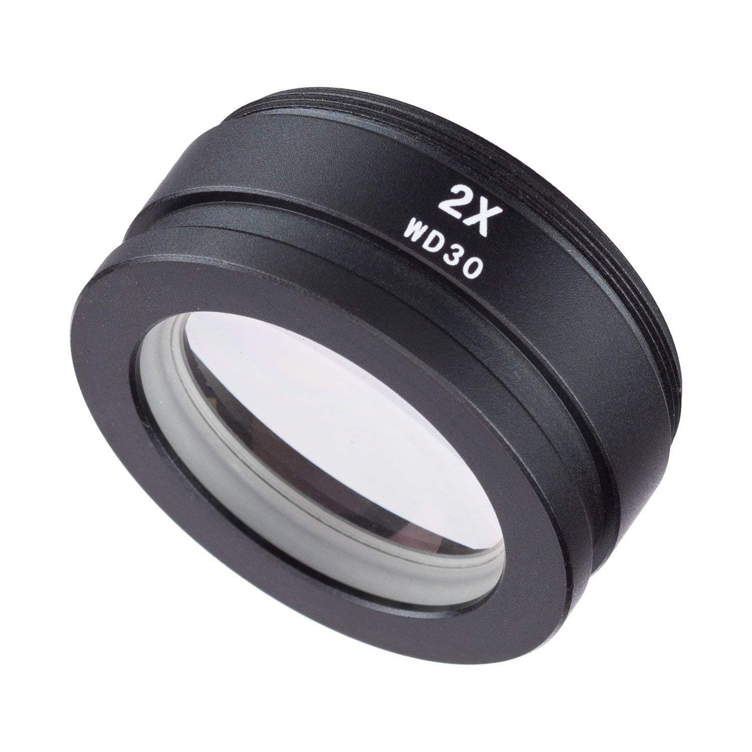 VIPFIX SM20 2X Barlow Lens Assisted Auxiliary Len for Stereo Zoom Microscope by DIYPHONE