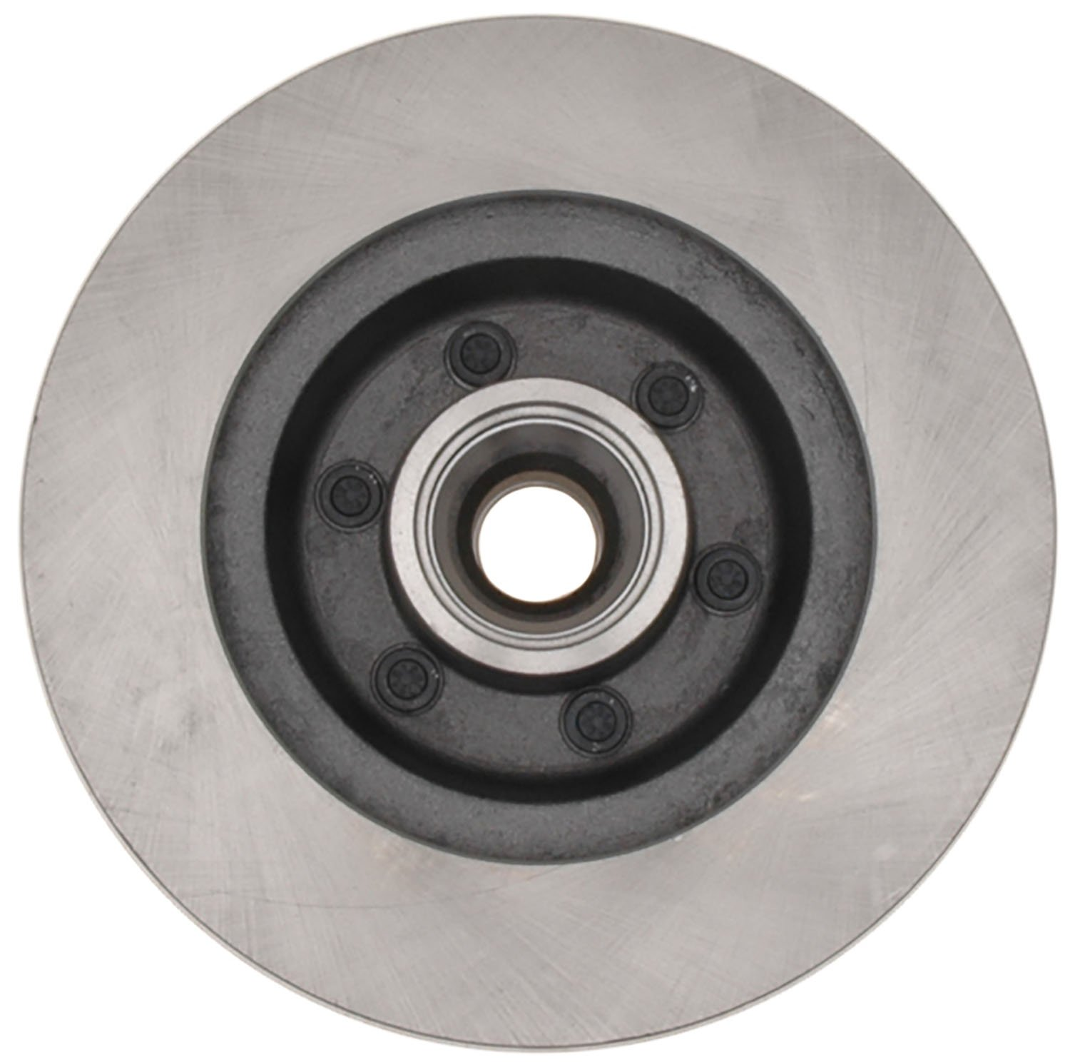 ACDelco 18A494A Advantage Non-Coated Front Disc Brake Rotor and Hub Assembly