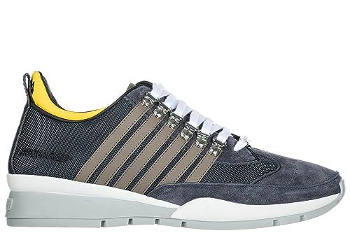 timeless design 002f3 cb2fd Dsquared2 Herrenschuhe Herren Wildleder Sneakers Schuhe 251 ...