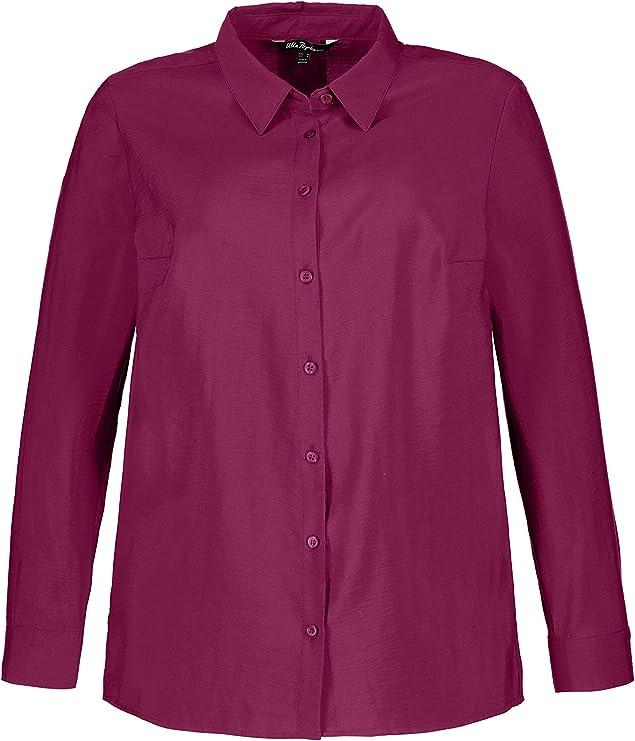 ULLA POPKEN FASHION T-Shirt Rundhals apricot NEU