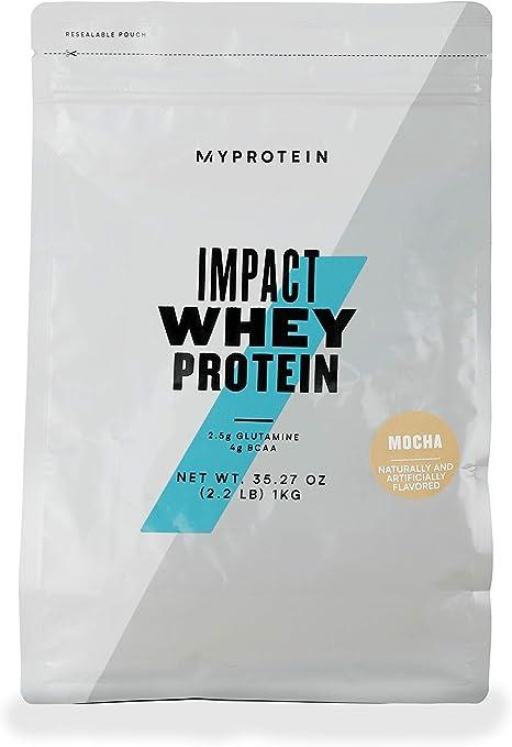 MyProtein Impact Whey Proteína de Suero, Sabor Mocha - 1000 gr