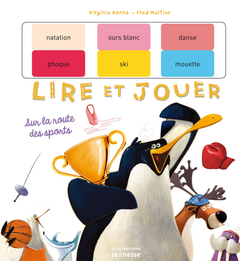 Sur La Route Des Sports (English and French Edition) ebook