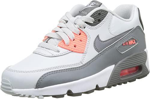 Nike Air Max 90 LTR GS, Sneakers Basses Mixte Enfant, Blanc