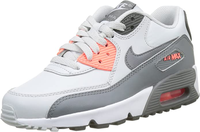 Nike Air Max 90 LTR GS, Sneakers Basses Mixte Enfant, Blanc