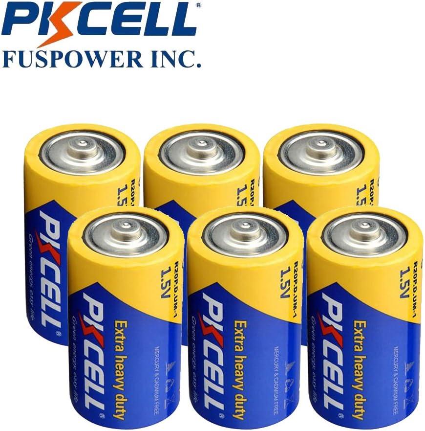 D Size R20P R20 D UM1 Super Heavy Duty Battery 4 Pack 2Pc//Blister