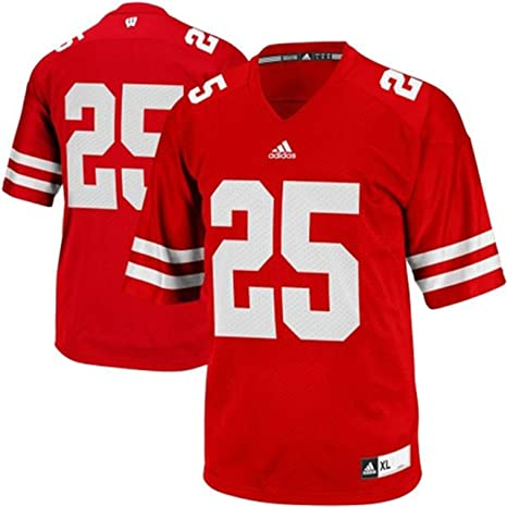 quality design 4754f 1b21d Wisconsin Badgers Kids Replica Football Jersey - Red #25 ,