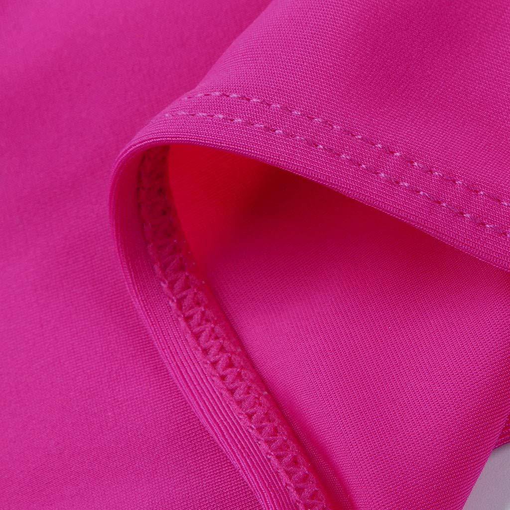 Guoxn Maternity Swimsuit Pregnancy Plus Size Tummy Control Bikini Two-Pieces Beachwear