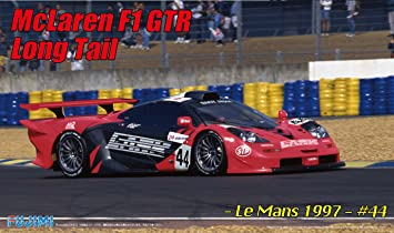 Amazon.com: 1/24 Rial Sports Car Series No.91 McLaren F1 GTR Long ...