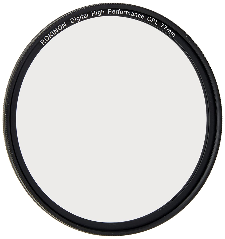 Rokinon 77MM CPL77 Multi-Coated Circular Polarizer Filter Elite Brands CA