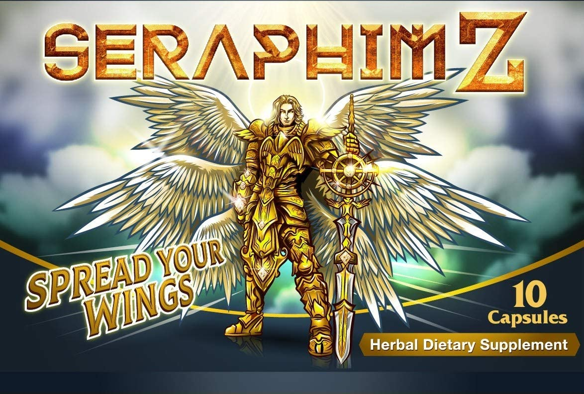 Seraphim Z New Energy, Strength & Endurance Booster by The Makers of Wild Bull