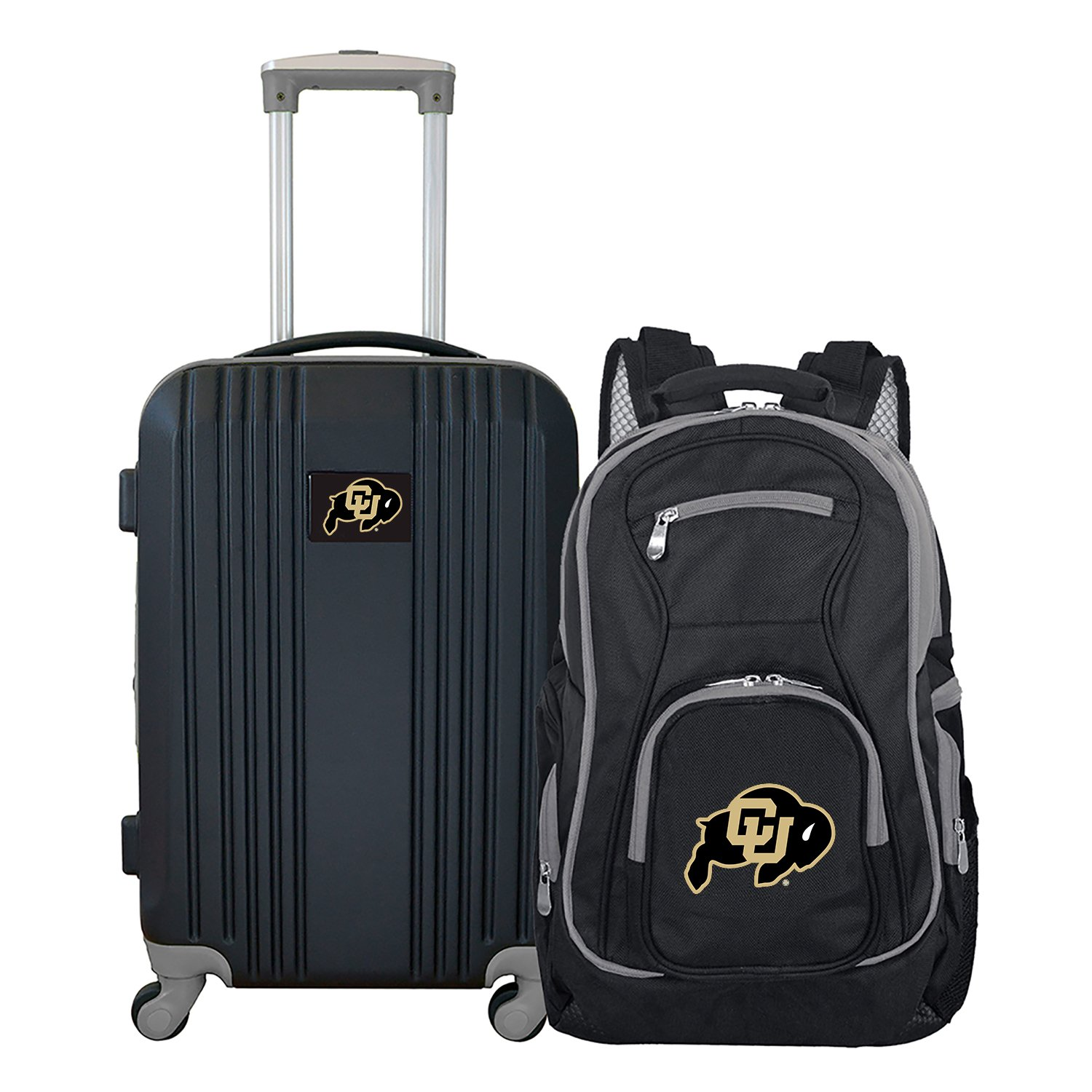 NCAA Colorado Buffaloes 2-Piece Luggage Set
