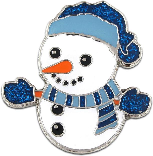 Christmas Snowman Pin