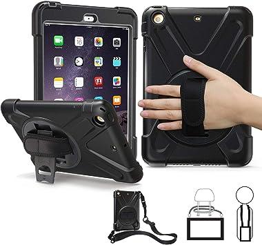 BRAECN - Funda para iPad Mini 2, funda para iPad Mini 3, resistente a prueba de golpes