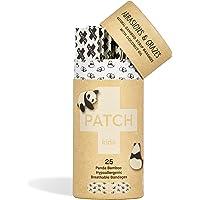 Patch Bamboo Org Strips Coconut Oil Panda Kids 25 x pk