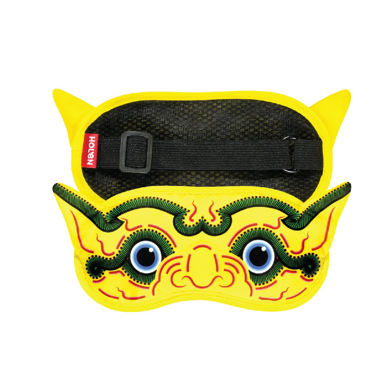 HOLEN Ramakien Sleeping Mask - KESORNTHAMALA Yellow Monkey - Best Souvenir From Thailand by HOLEN