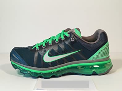 41884aaa969a1 Image Unavailable. Image not available for. Color  NIKE Air Max 2009 Blue-Green  Men s Running Shoe ...