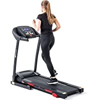 Hop-Sport elektrisches Laufband HS-640A Heimtrainer Fitnessgerät Bluetooth 4.0, 9 Programme klappbar LCD-Display bis 150 kg belastbar