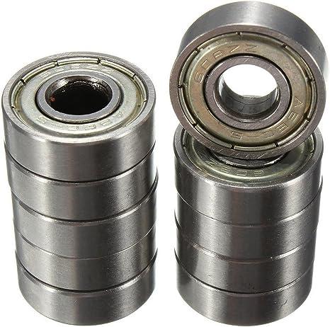 Rodamientos de bolas - SODIAL(R)10pcs 8 x 22 x 7 mm ruedas de ...