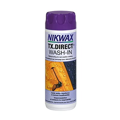 Nikwax TX. Direct Wash-in Waterproofing, 10 fl. oz. : Sewing Fabric Care Products : Sports & Outdoors