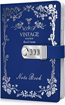 Vintage Classic Leather Journal Travel Notepad Notebook Blank Diary Memo SP