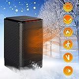 iBazal PTC Termoventilador Cerámico y Calefactor Cerámico 450w/950w, Calentador…