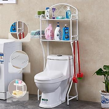 Multifunktions-WC-Regal Toilette Rack Badezimmer Ablage mit ...